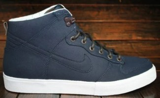 "wholesale dealer a477b 9ddca Nike Dunk High AC Canvas ""Obsidian"""