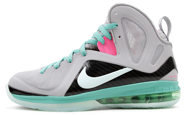 """official photos 4919c 93ffc Release Reminder  Nike LeBron 9 P.S. Elite """"South Beach"""""""