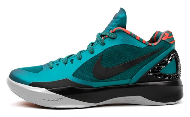 "quality design 2226b ed07d ... Black Treasure Blue- White Nike Zoom Hyperdunk 2011 Low ""Lush Teal"" ."