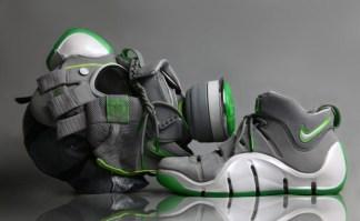 "Nike Zoom LeBron IV ""Dunkman"" Gas Mask"