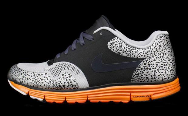 19a40a8c23de ... shop nike lunar safari fuse black grey total orange 6b446 d236e
