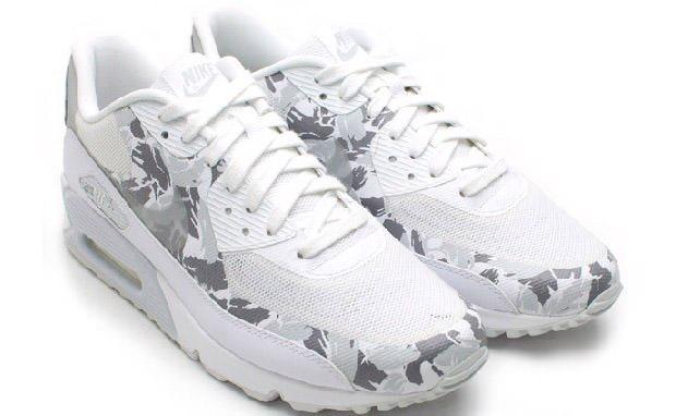 Nike Air Max 90 Hyperfuse Premium - White/Reflective Silver