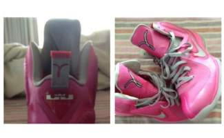 "best website 3ac78 d2583 Nike LeBron 9 ""Think Pink"""