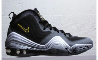 Nike Air Penny V Black/Cool Grey-Tour Yellow