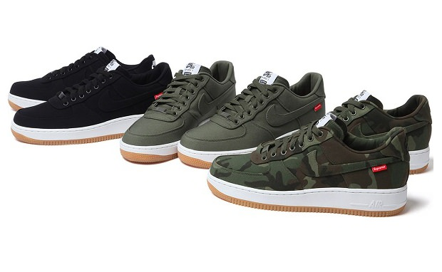 da8aed54c Supreme x Nike Air Force 1 Low Release Date | Nice Kicks