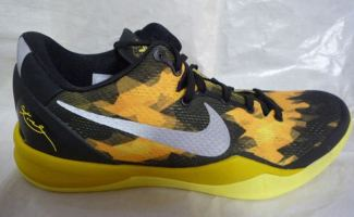 half off 98a2e 12724 Nike Kobe VIII Black Yellow