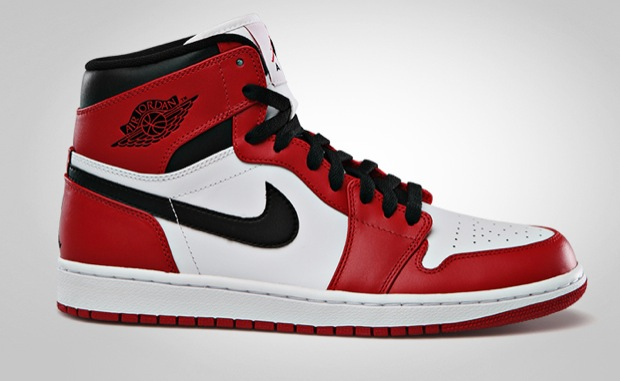 red and white jordans