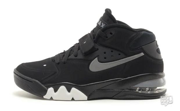 nike air max 93 charles barkley shoes black and white