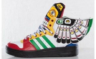 "Jeremy Scott x adidas Wings 2.0 ""Eagle"""