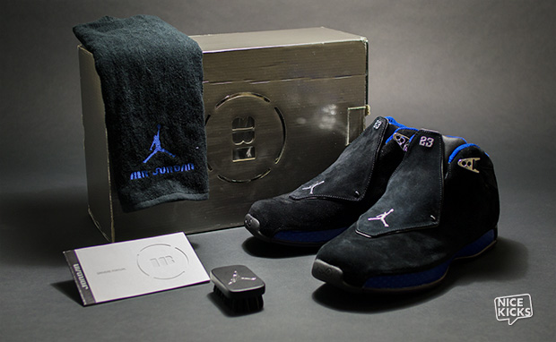 5caa9ff4bdbc Air Jordan 18 Black Royal Release Date
