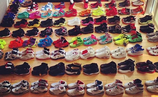 Joe Haden Shares a Look at Part of His Sneaker Collection
