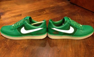 """Nike Air Force 1 Downtown """"The Masters 2013"""" Tiger Woods PE"""