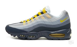 """Nike Air Max 95 No-Sew """"Varsity Maize"""" Available Now a9b4a742b"""