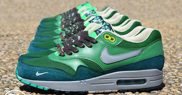 "low cost c8b5c 3fa9e Nike Air Max 1 ""Dr. Doom"" Custom"