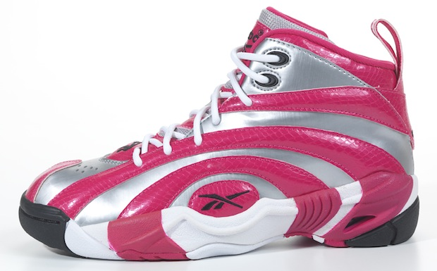 3838e405fcebfa Reebok Shaqnosis Pink Silver