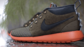 "5642d7bee042 Live Look  Nike Roshe Run SneakerBoot ""Dark Loden"""