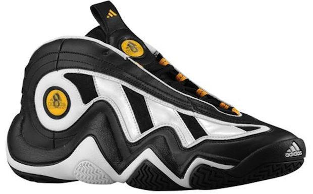 adidas Crazy 97 Black/White-Gold | Nice Kicks