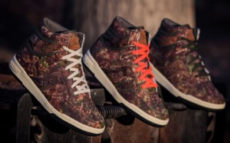 "innovative design 65b64 f396d Packer Shoes x Saucony Hangtime Hi ""Woodland Snake"""