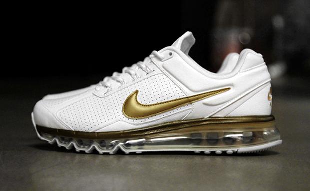 magasin en ligne 996f0 3a735 Nike Air Max 2013 Leather QS White/Metallic Gold   Nice Kicks