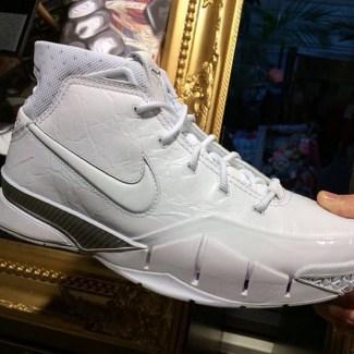 Nike Kobe All White Collection