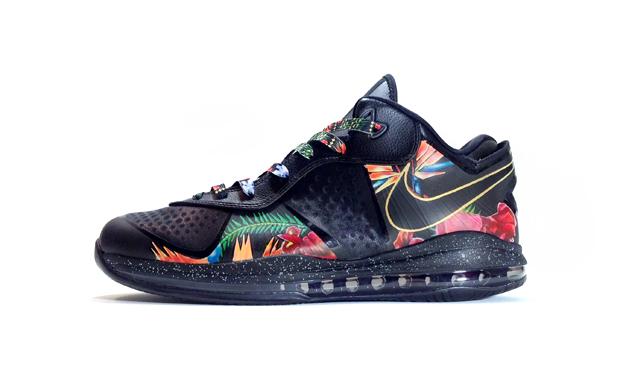 "Nike LeBron 8 Low ""King of the Throne"" Custom"