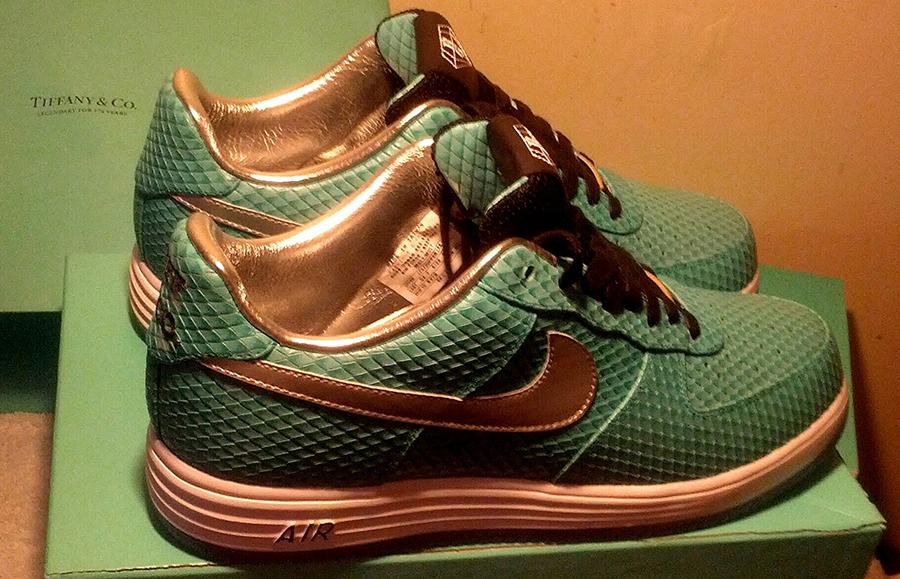 "huge discount c2c25 412fd Nike Lunar Force 1 ""Tiffany"" Bespoke by Anthony Baker"