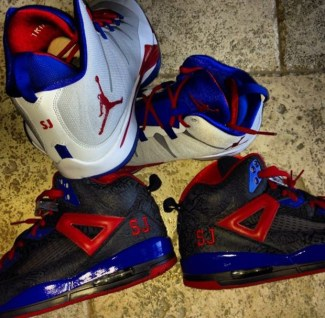 Stephen Jackson Shares Look at His Jordan Clippers PEs