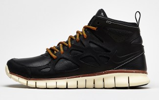 """huge selection of d5d21 4f4a2 Nike Free Run 2 SneakerBoot Premium """"Leather"""""""
