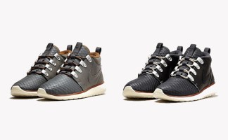 "af43f793ca2e Nike Roshe Run SneakerBoot ""Premium Leather"" Pack"