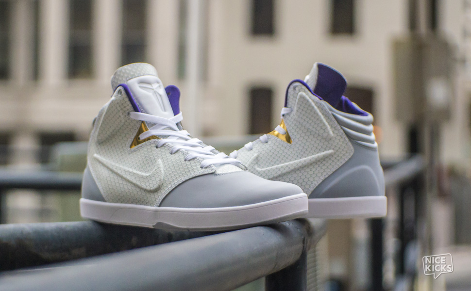cheap for discount 12b64 c9a8c Nike Kobe 9 NSW Lifestyle Wolf Grey White Available Now