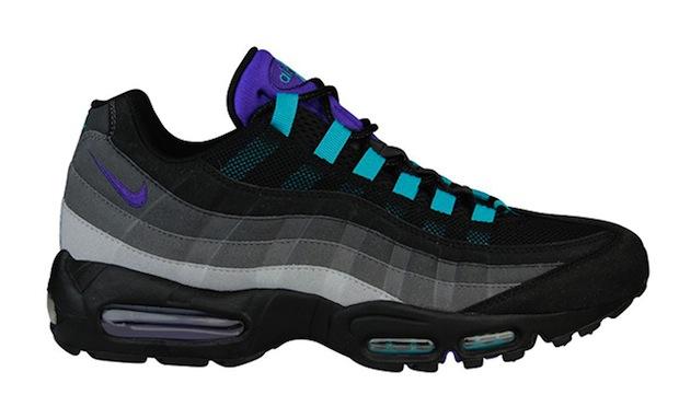 Nike Air Max 95 Black Grape Nice Kicks