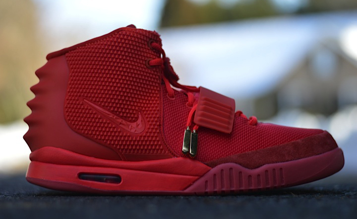 nike air yeezy 2 marron