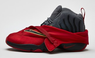 "7230b0e49b81 Nike Air Zoom Flight The Glove ""Miami Heat"" Official Images"