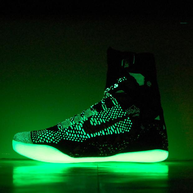 "best sneakers 52829 4ebac Nike Kobe 9 Elite ""Nola Gumbo Glow"" Custom"