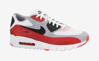 "Nike Air Max 90 Breathe ""University Red"" 9c4b915a3"