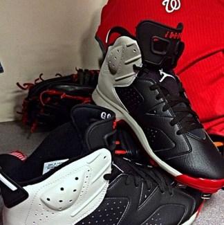 Gio Gonzalez Shares a Look at His Air Jordan 6 Cleats b27ad359e0