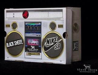 Black Sheep x Nike SB Dunk High Box