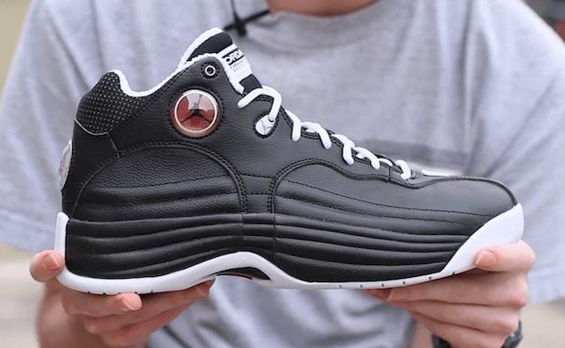 hot sale online e6456 4bb31 Live Look: Jordan Jumpman Team 1 Black/Varsity Red | Nice Kicks