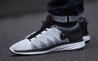 "timeless design f65d6 6151d Nike Flyknit Lunar2 LUX ""V"" by afew Charity Auction"