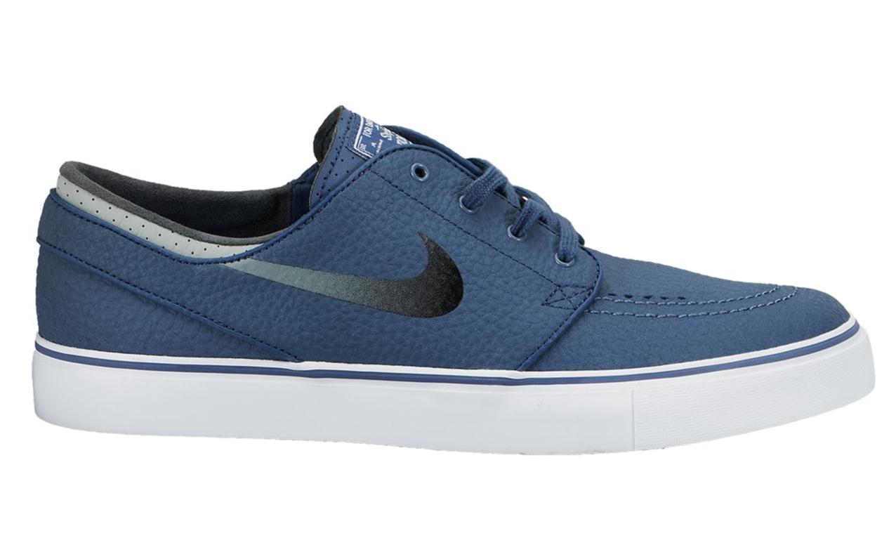 "low priced 65621 504d8 Nike SB Zoom Stefan Janoski Leather ""New Slate"""