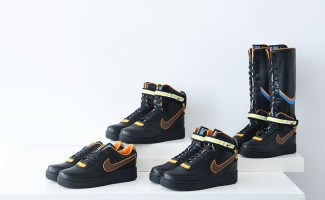 3651ca61487a38 Nike R.T. Air Force 1 Black Collection