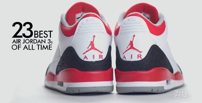 The 23 Best Air Jordan 3s of All Time  bc61b3b2a