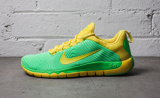 check out e0a38 f7511 ... nike free trainer 5.0 blue and yellow ...