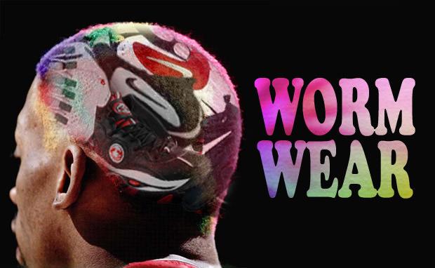 Worm Wear  A History of Dennis Rodman s Sneakers  f48fe8a3f