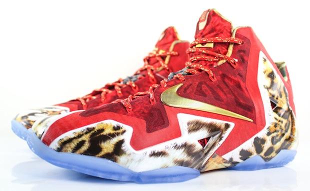 164b34c75090 Video Nike LeBron 11 NBA 2K14 Limited Edition Nike LeBron 11 ...