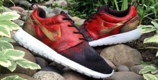 """check out a6d6f f0480 Nike Roshe Run """"300"""" Custom"""