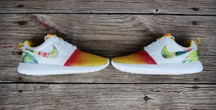 "best service cdd12 6d5a3 Nike Roshe Run ""Sunset Palmer"" Custom"