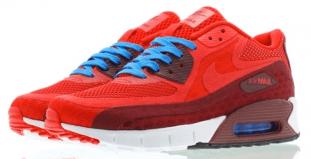 "Nike Air Max 90 Breathe ""Gym Red"" 2c6ec89d3"