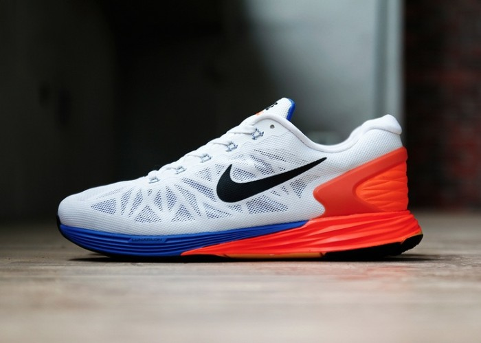 64be05ca2fc6 Nike LunarGlide 6 White Black-Hyper Crimson Another Look