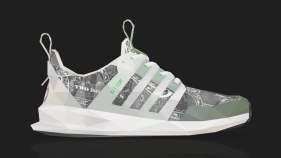 """Wish x adidas SL Loop Runner """"Independent Currency"""" Illustration by Larry  Luk d90f85ee2"""